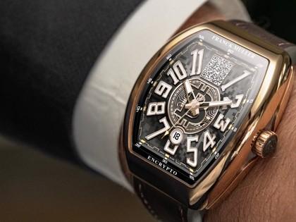 来自瑞士的比特币手表。收藏数量有限。用比特币付款。在迪拜购物中心购买。
